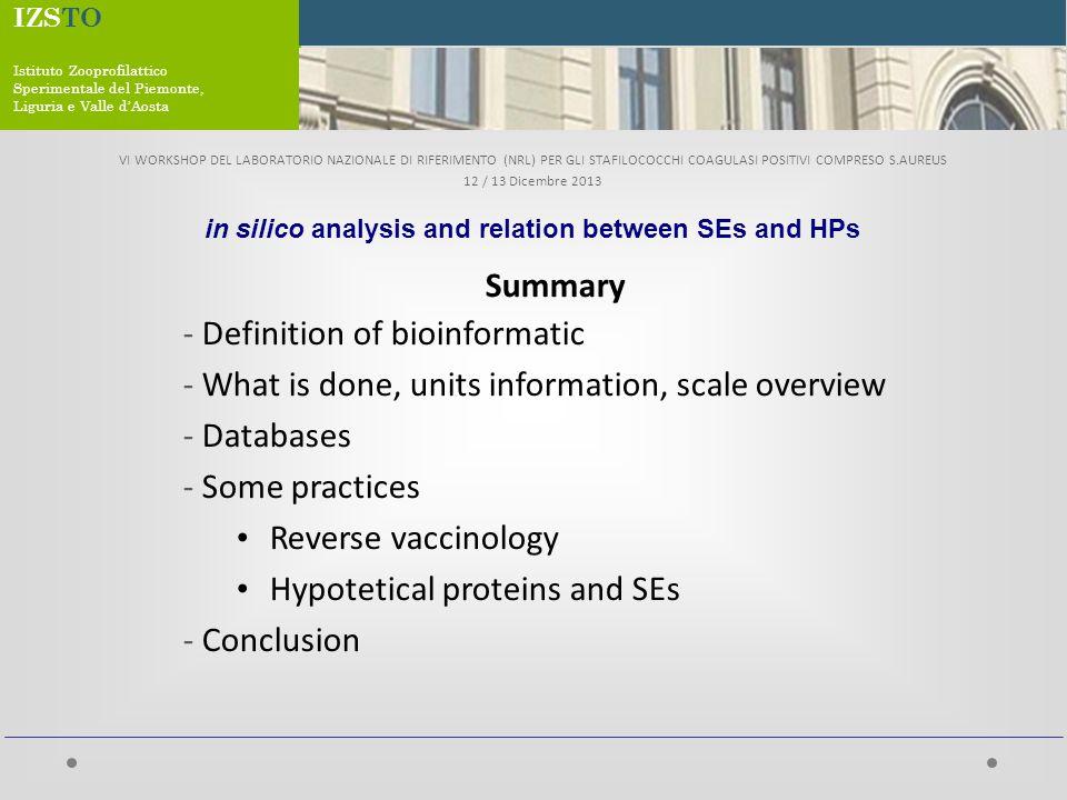 What is Bioinformatics/computational biology.