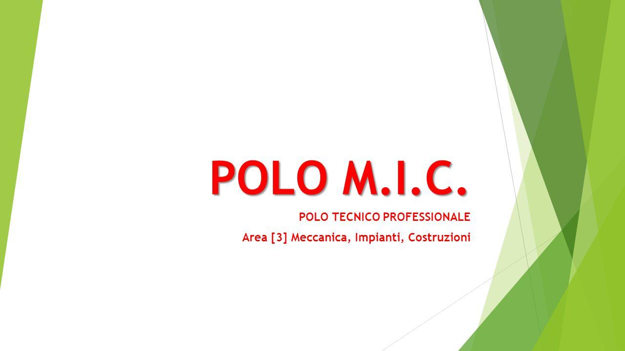 POLO M.I.C. POLO TECNICO PROFESSIONALE Area [3] Meccanica, Impianti, Costruzioni