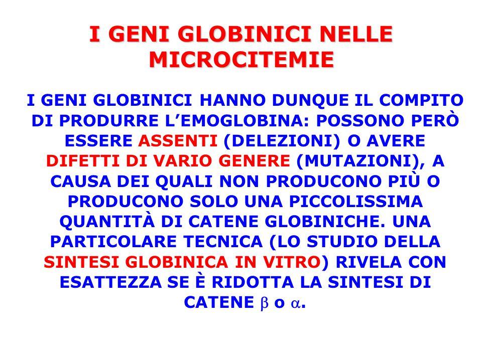 L'ANEMIA MEDITERRANEA LA CONDIZIONE GENETICA CHE CAUSA LA MALATTIA È L'OMOZIGOSI PER UN DIFETTO  MICROCITEMICO GRAVE (IN ITALIA MOLTO SPESSO LA MUTAZIONE °39 CT) OPPURE L'ETEROZIGOSI MISTA PER 2 DIFETTI  MICROCITEMICI GRAVI.