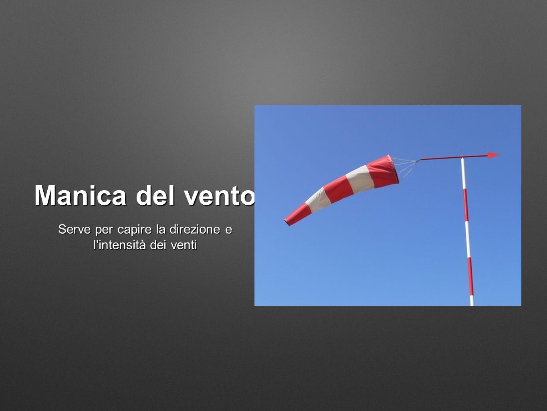 Manica del vento Serve per capire la direzione e l'intensità dei venti