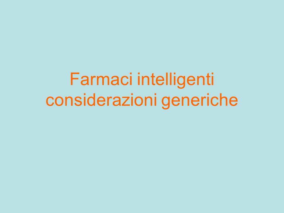 Farmaci intelligenti considerazioni generiche