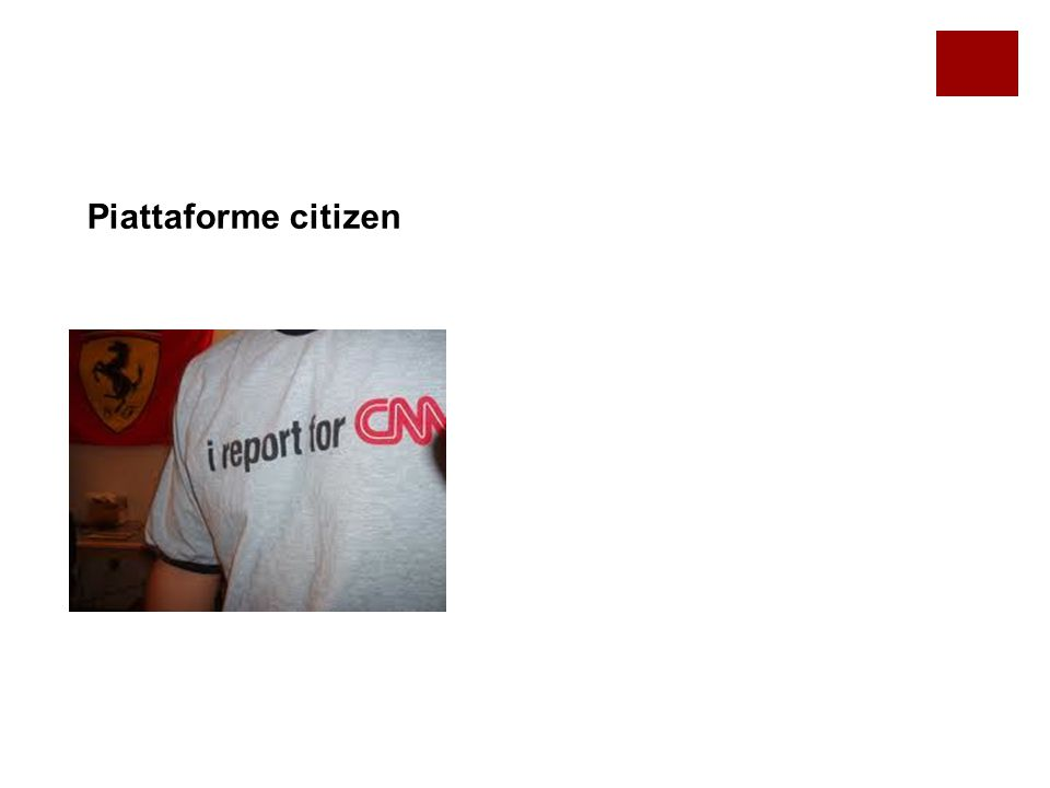 Piattaforme citizen