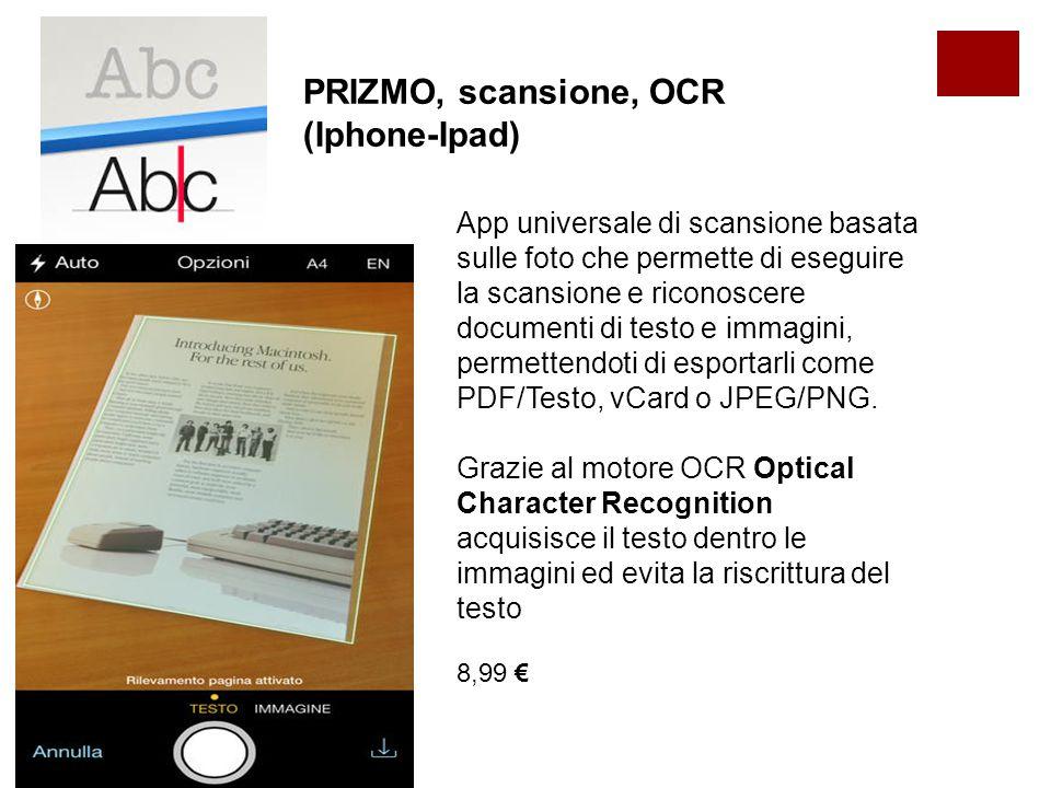 Mobile OCR Free per Android Lo smartphone di trasforma in uno scanner che estrae dalle foto acquisite al momento o dall'album, un normale testo.