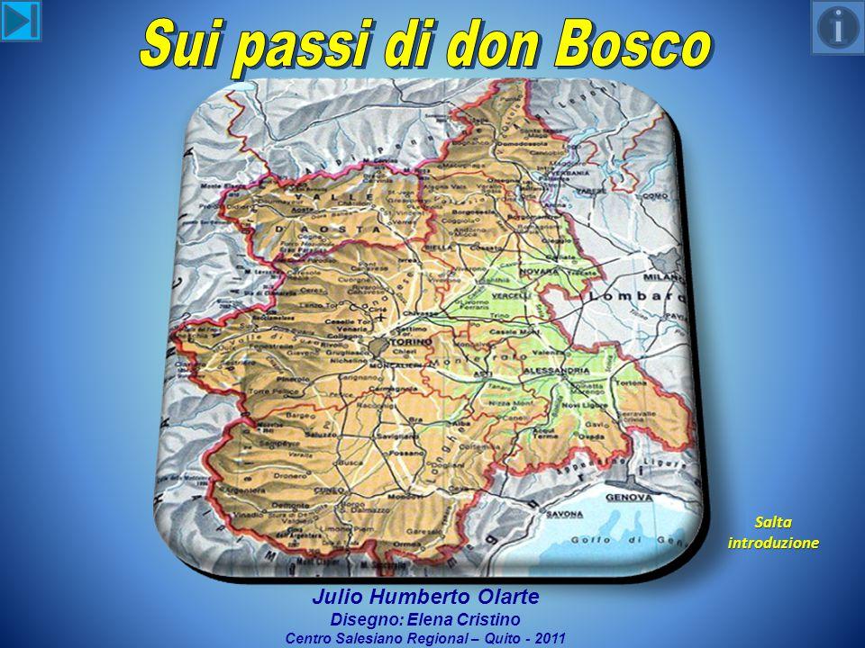 Salta introduzione Julio Humberto Olarte Disegno: Elena Cristino Centro Salesiano Regional – Quito - 2011