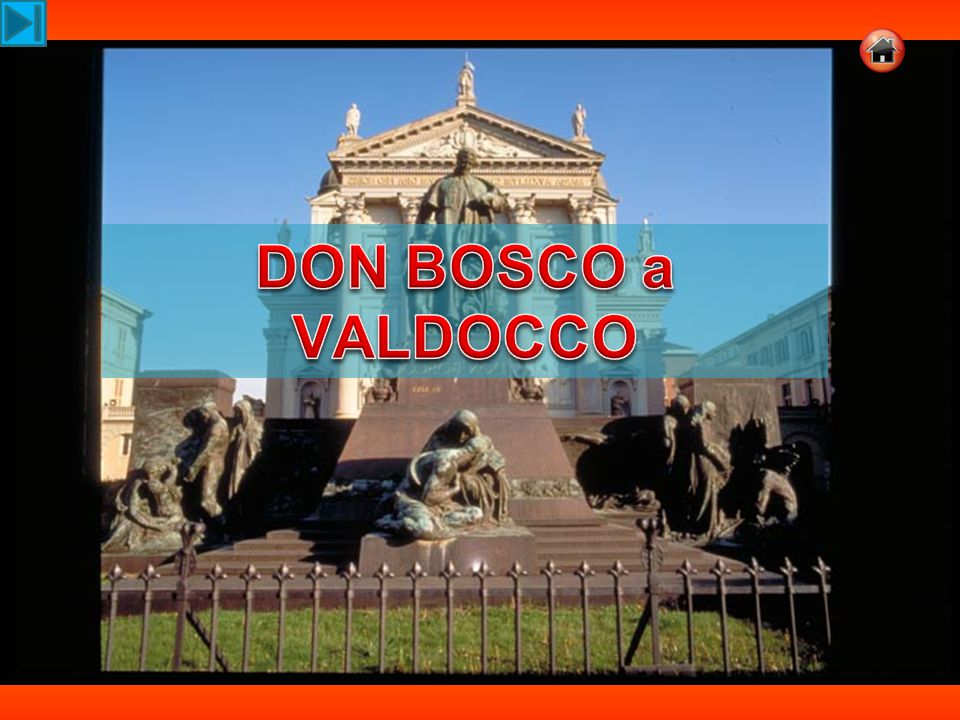 Scrive don Bosco nelle Memorie dell'oratorio, (n.51): Scrive don Bosco nelle Memorie dell'oratorio, (n.51): era venuta l ultima domenica, in cui mi era ancora permesso di tenere l'Oratorio nel prato (15 marzo 1846).