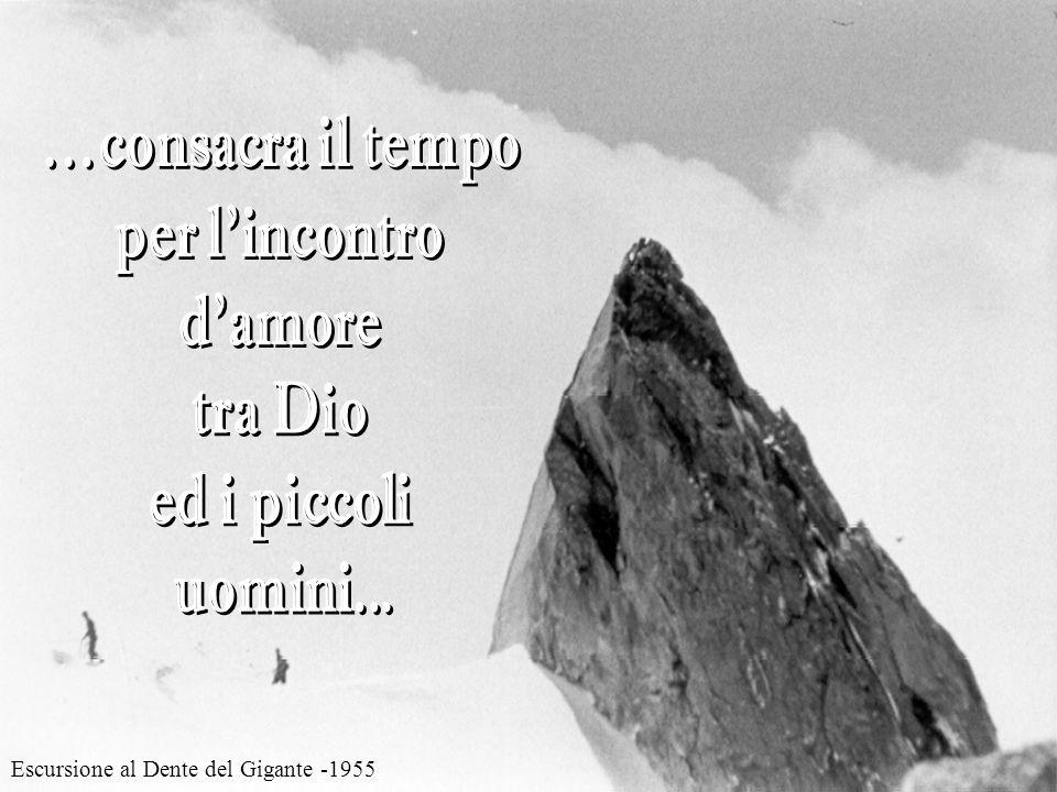 Cervino, parete N-O - 1954