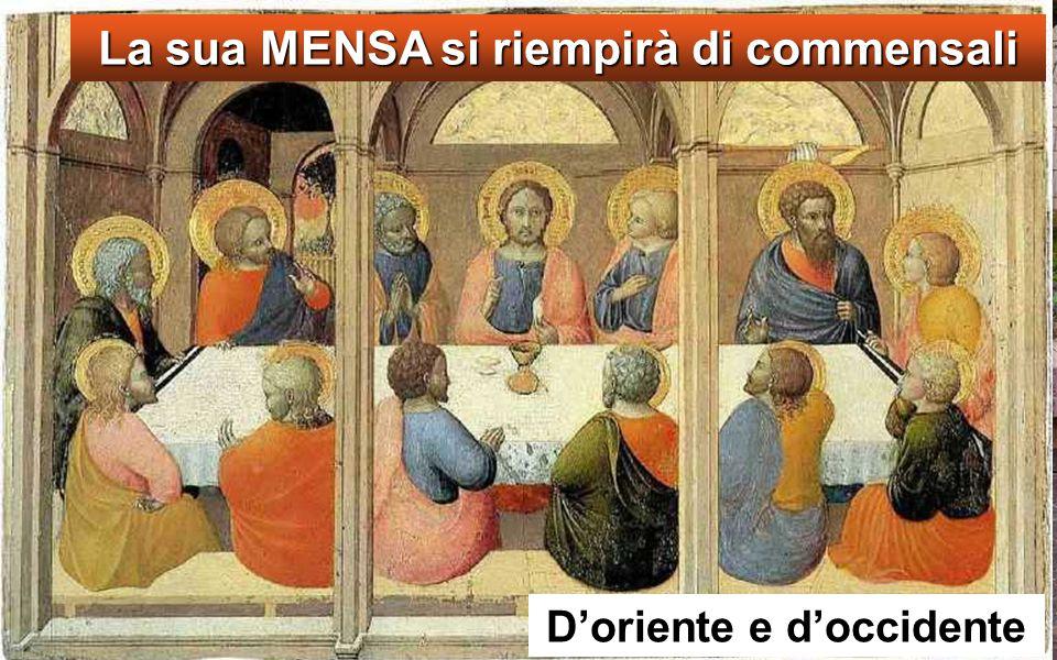 Allora Gesù prese i pani e, dopo aver reso grazie, li diede a quelli che erano seduti, e lo stesso fece dei pesci, quanto ne volevano.
