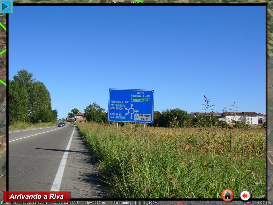 Arrivando a Riva