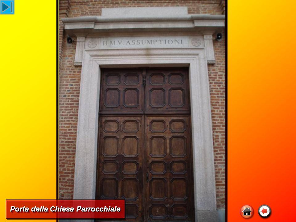 Porta della Chiesa Parrocchiale
