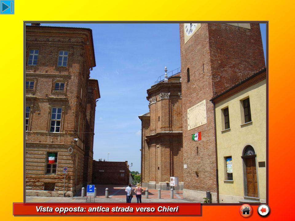 Vista opposta: antica strada verso Chieri