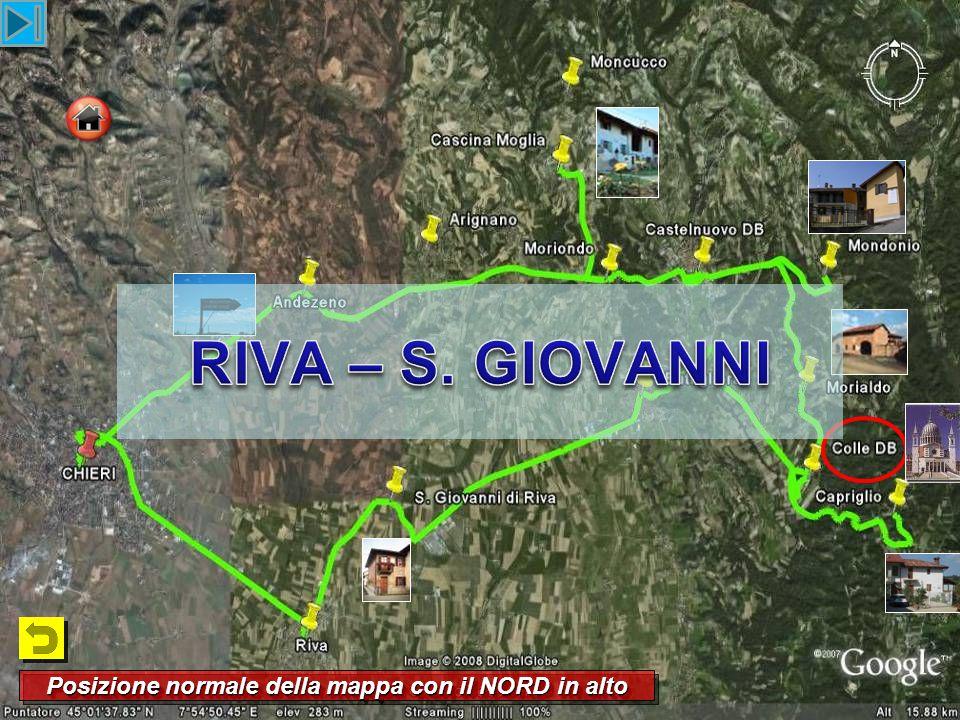 Arrivando a S. Giovanni di Riva Arrivando a S. Giovanni di Riva