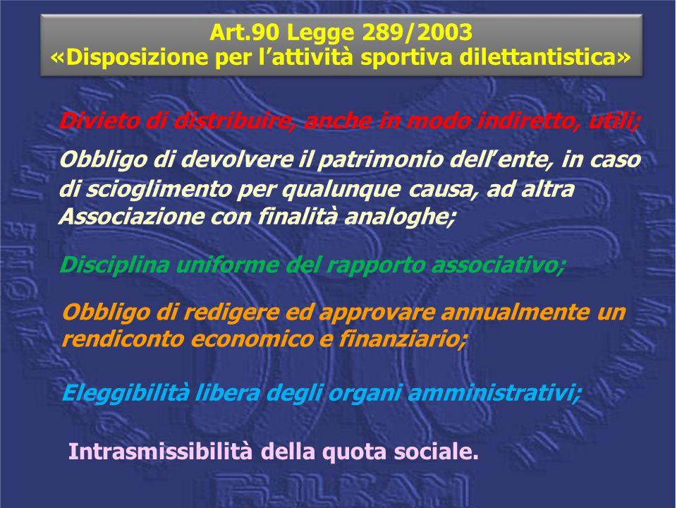 ESISTONO ASSOCIAZIONI ESONERATE DALLA PRESENTAZIONE DEL MODELLO E.AS.