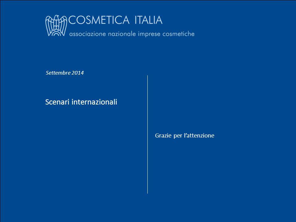 Settembre 2014 Gian Andrea Positano Scenari internazionali Nome Cognome 31 Scenari internazionali Grazie per l'attenzione Settembre 2014