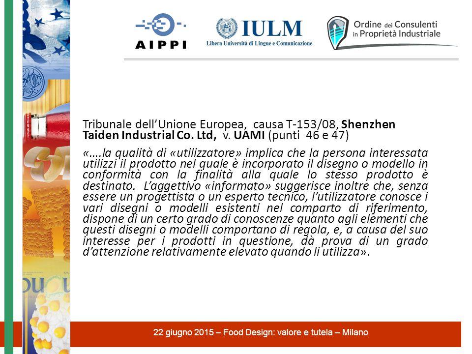 Tribunale dell'Unione Europea, causa T ‑ 153/08, Shenzhen Taiden Industrial Co.