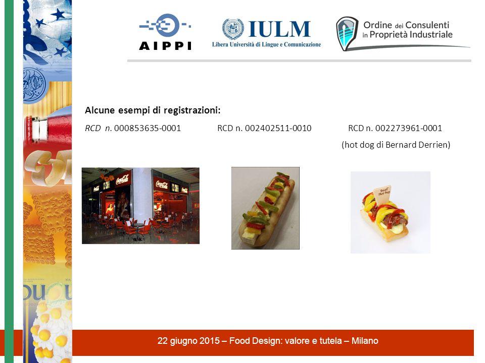 Alcune esempi di registrazioni: RCD n.000853635-0001 RCD n.