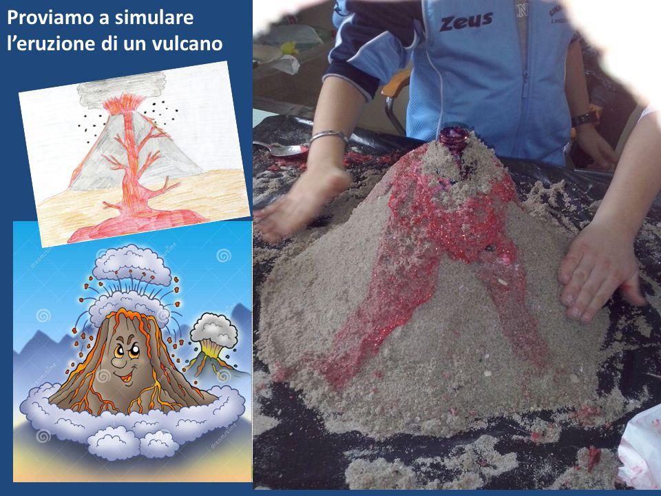 Proviamo a simulare l'eruzione di un vulcano