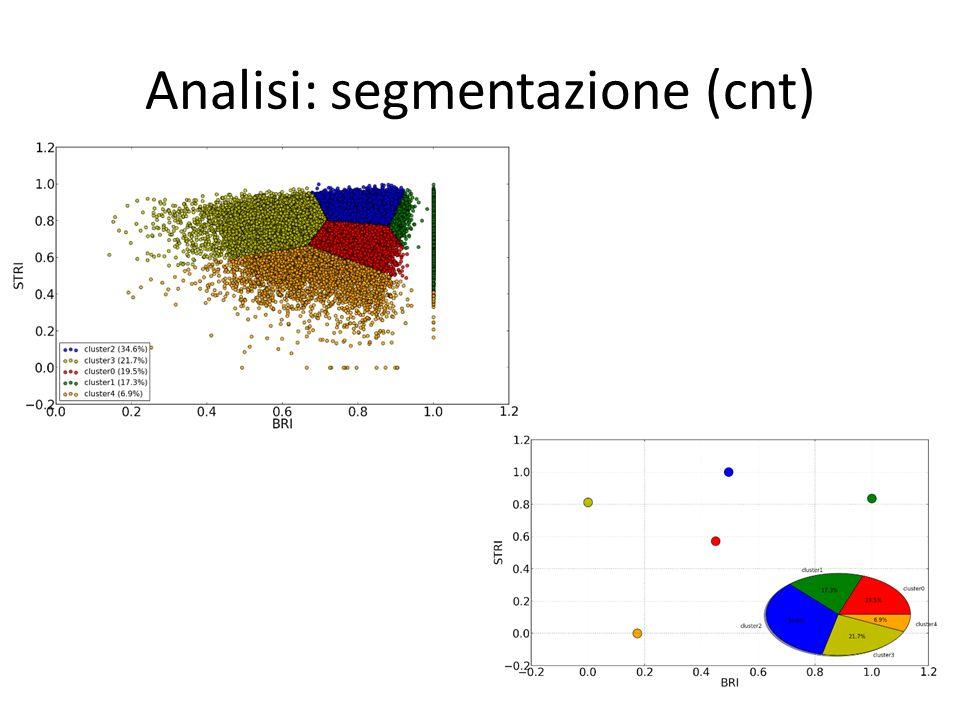 Analisi: segmentazione (cnt)
