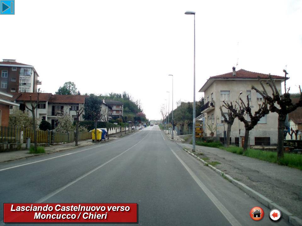 Lasciando Castelnuovo verso Moncucco / Chieri