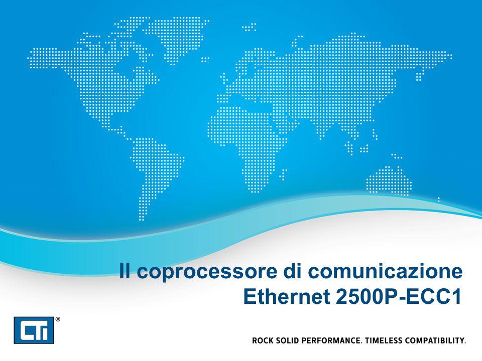 Il coprocessore di comunicazione Ethernet 2500P-ECC1