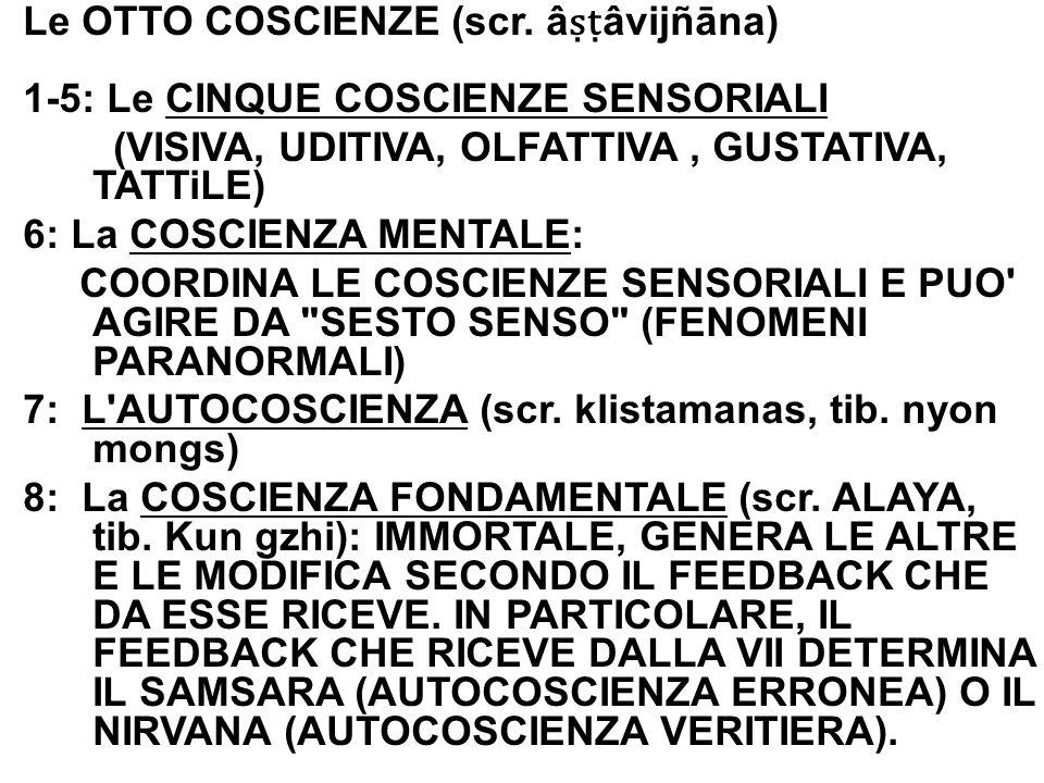 Le OTTO COSCIENZE (scr.