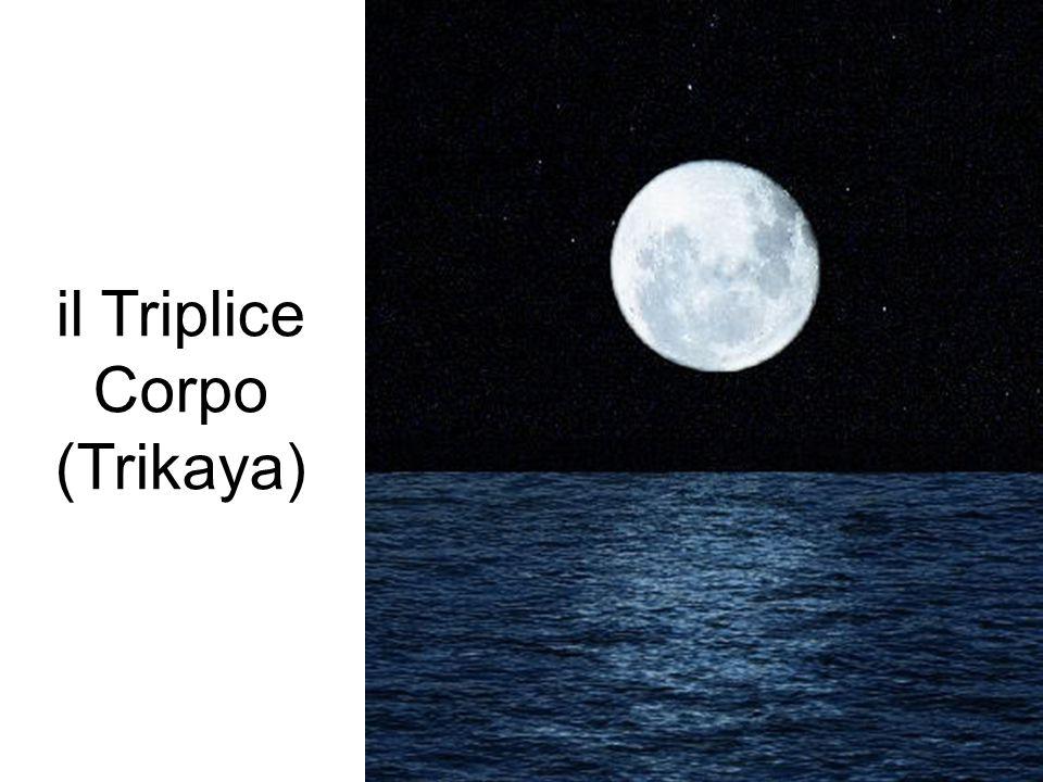 IL TRIPLICE CORPO (TRIKAYA) il Triplice Corpo (Trikaya)