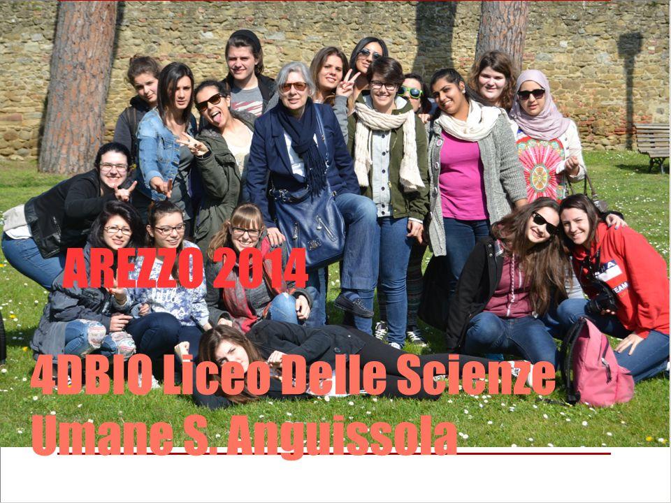 AREZZO 2014 4DBIO Liceo Delle Scienze Umane S. Anguissola