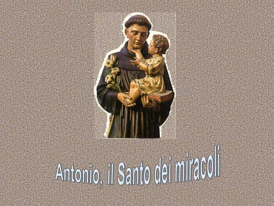 Antonio nasce a Lisbona intorno al 1195.