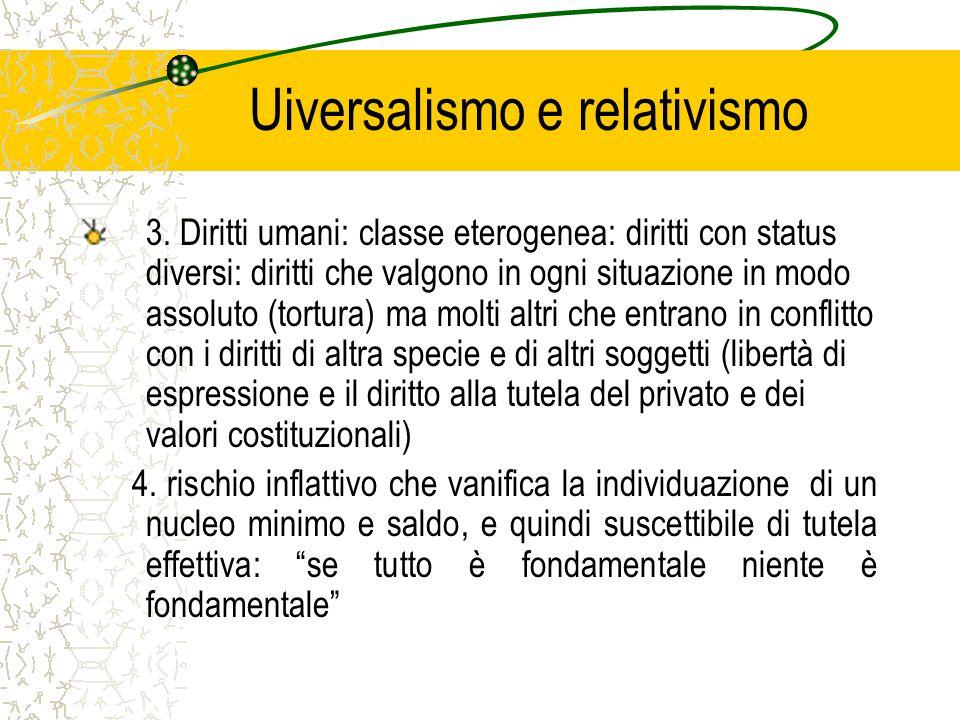 Uiversalismo e relativismo 3.