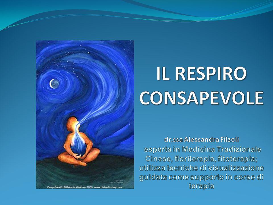 Essere consapevoli del respiro ci costringe a stare nel momento presente,è la chiave di tutte le trasformazioni interiori.