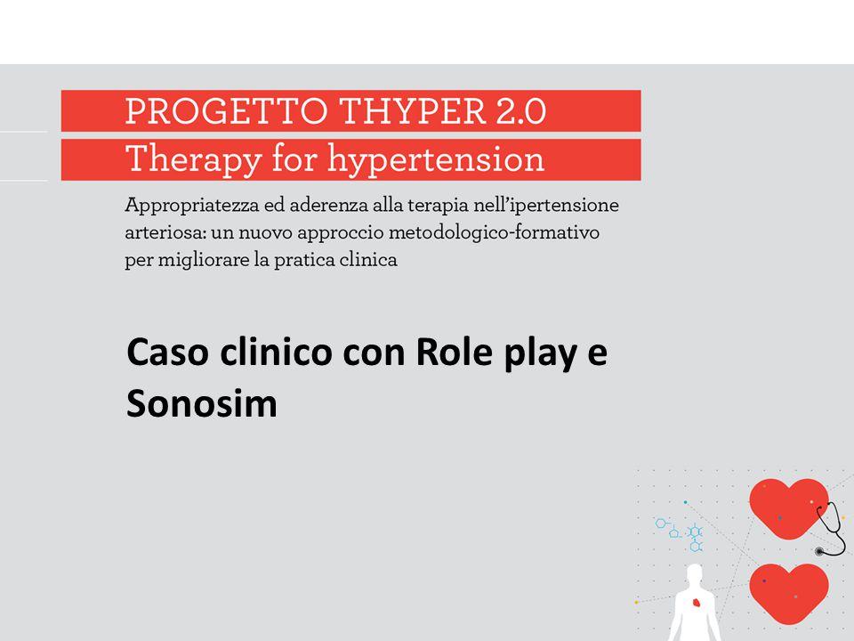 Caso clinico con Role play e Sonosim