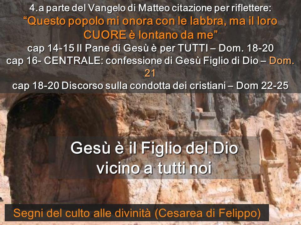 Con l'Osanna di Dufay confessiamo Gesù Figlio di Dio Monges de Sant Benet de Montserrat 21 ANNO A