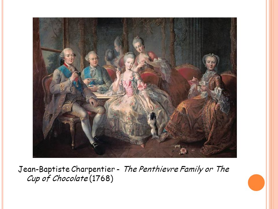 Jean-Baptiste Charpentier - The Penthievre Family or The Cup of Chocolate (1768)