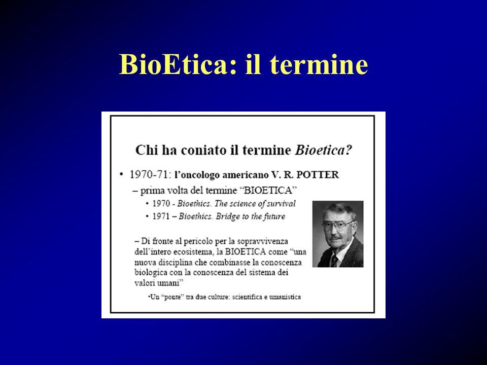 BioEtica: cosa è