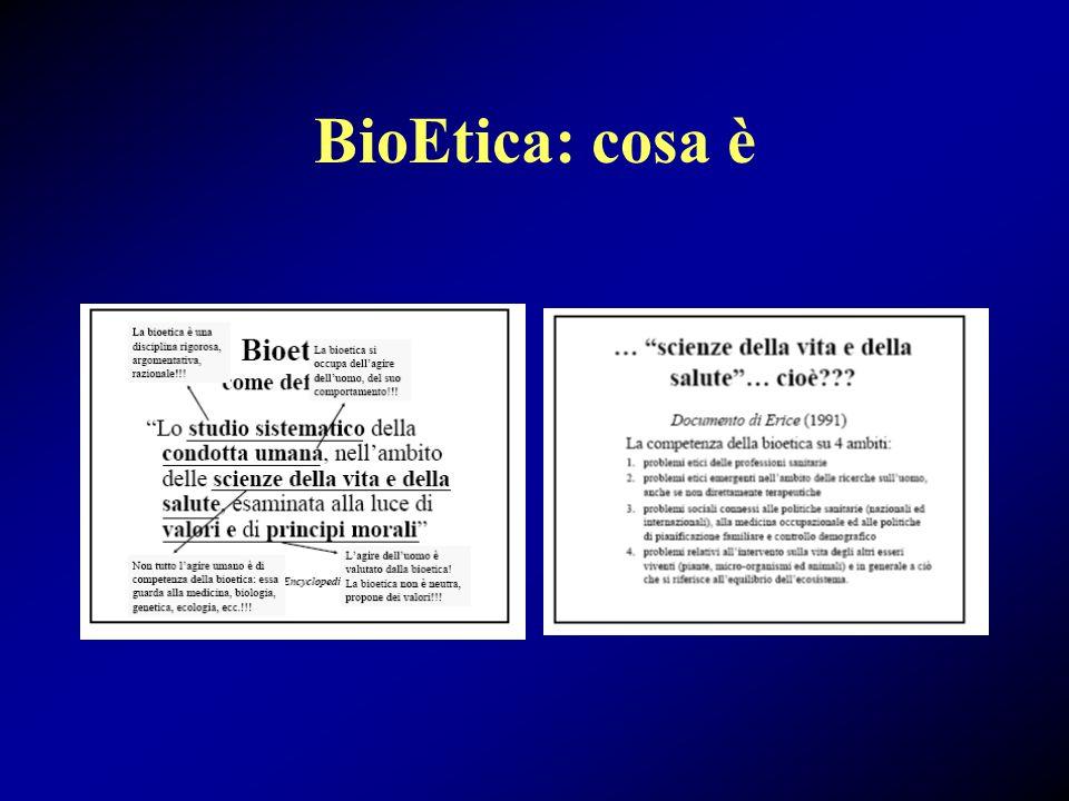 BioEtica e sperimentazione
