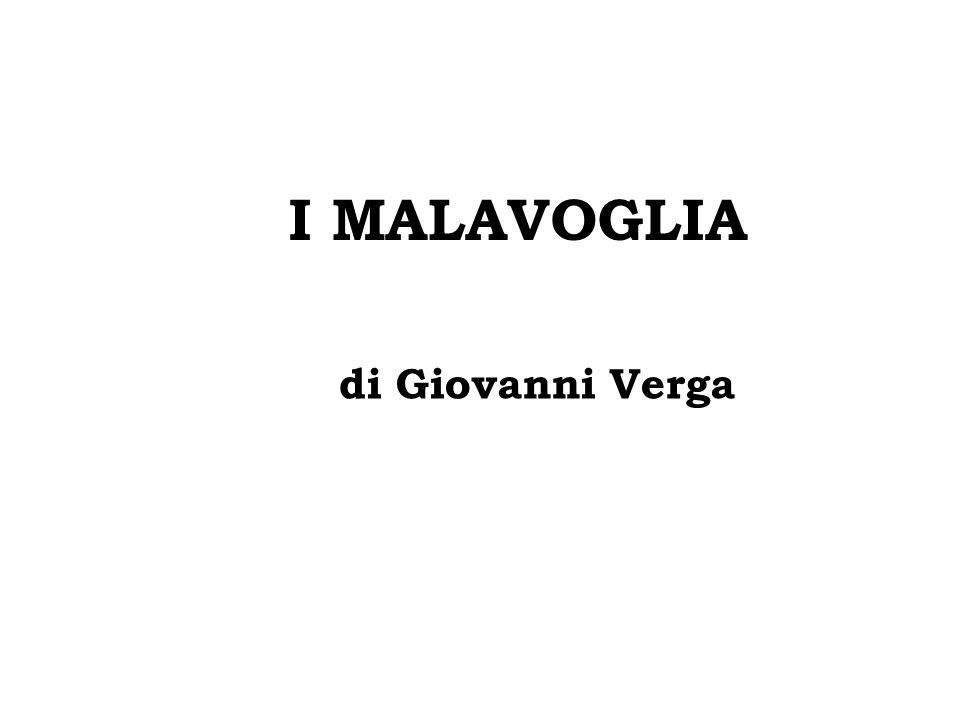 I MALAVOGLIA di Giovanni Verga