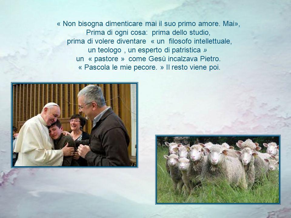 Seguire Cristo, ed essere pastori « Simon, figlio di Giovanni, mi ami tu?. » Il Cristo chiede per tre volte al primo degli Apostoli se l'ama più degli