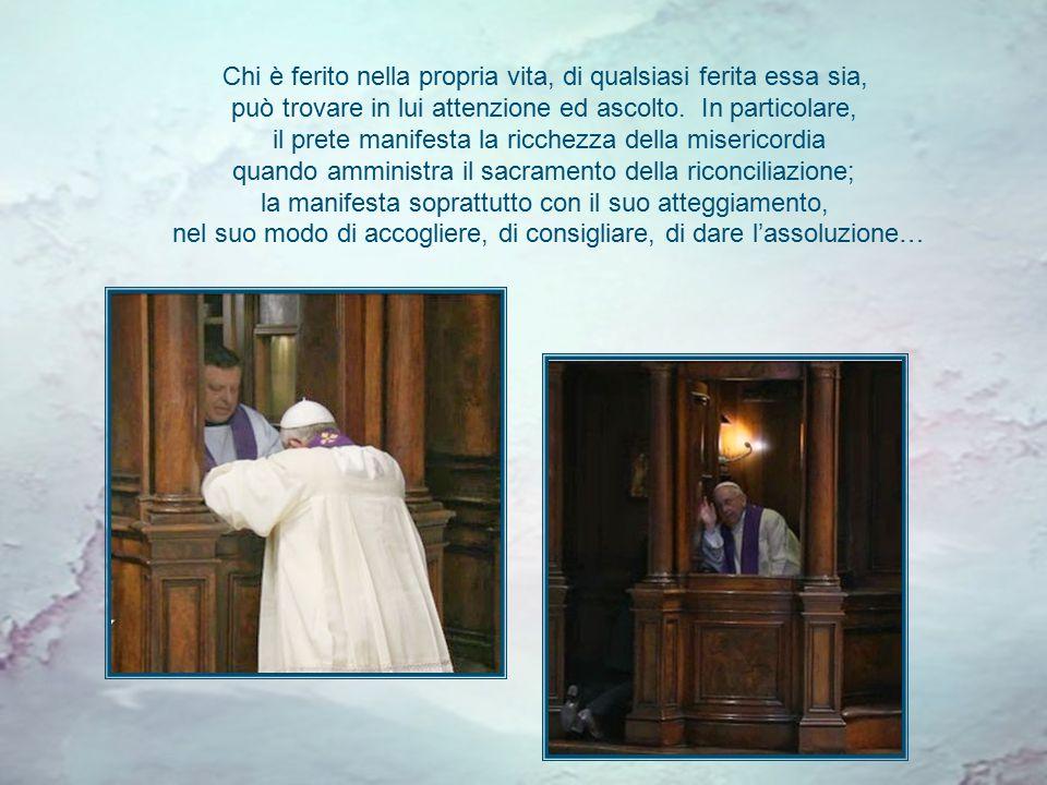 Come il Buon Pastore, il prete è un uomo di misericordia e di condivisione, vicino al suo popolo e servitore di tutti. È un criterio pastorale che vor