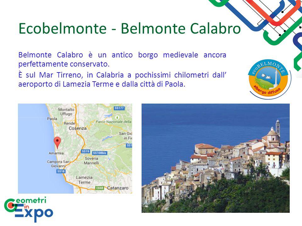 Ecobelmonte - Belmonte Calabro Belmonte Calabro è un antico borgo medievale ancora perfettamente conservato. È sul Mar Tirreno, in Calabria a pochissi
