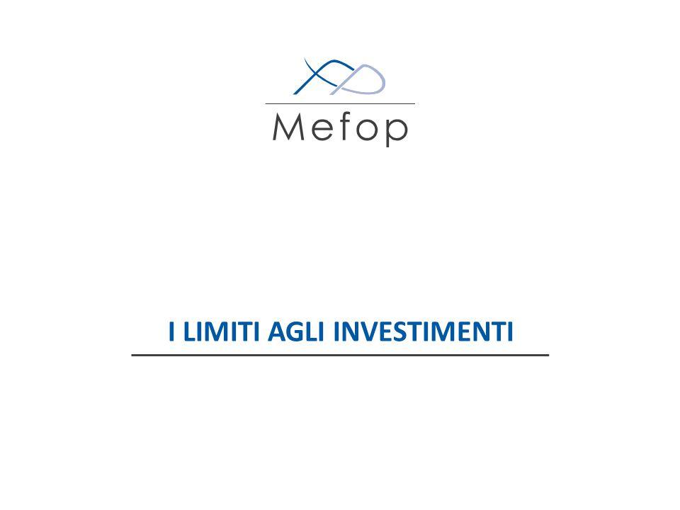 www.mefop.it Attività ammesse e limiti agli investimenti 16 Quotato: min 70%Non quotato: max 30% Strumenti finanziari quotati Strumenti finanziari non quotati