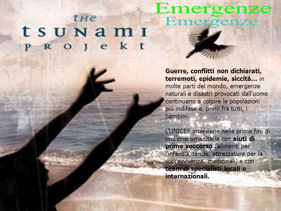 Guerre, conflitti non dichiarati, terremoti, epidemie, siccità...