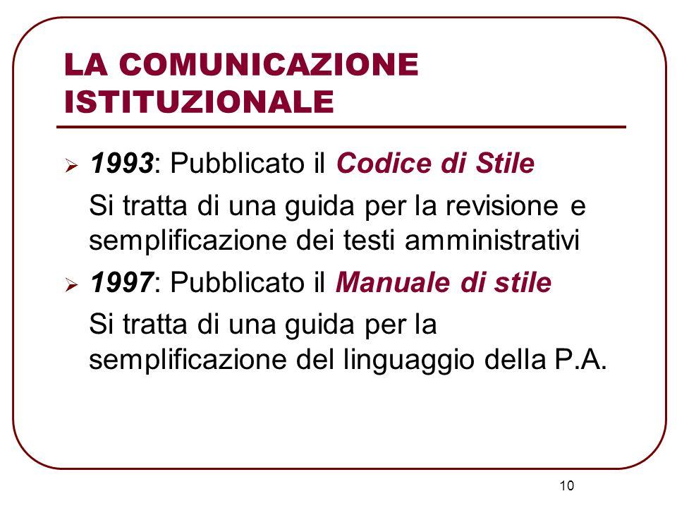 11 LE LEGGI BASSANINI legge 59/1997 Delega al Governo per il conferimento di funzioni e compiti alle Regioni ed Enti Locali, per la Riforma della P.A.