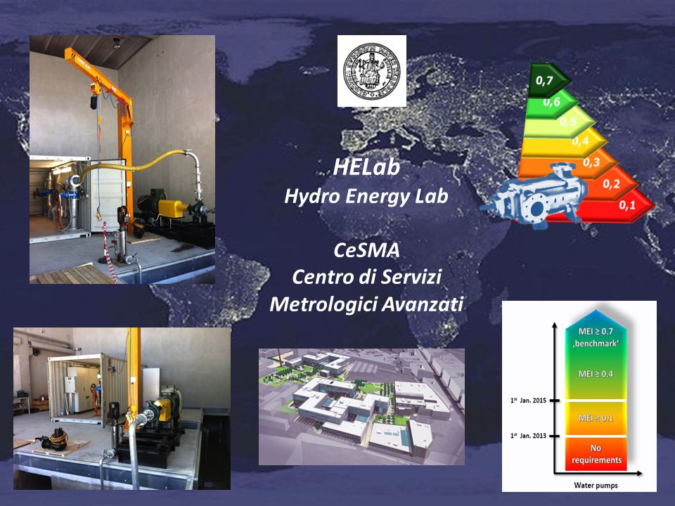 HELab Hydro Energy Lab CeSMA Centro di Servizi Metrologici Avanzati