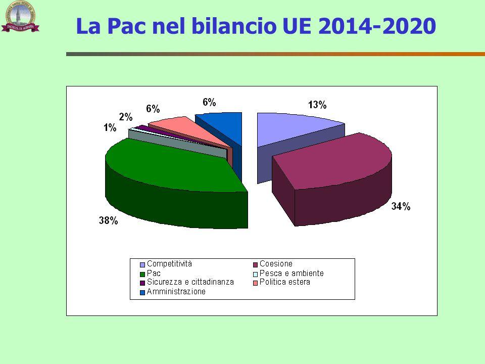 La Pac nel bilancio UE 2014-2020