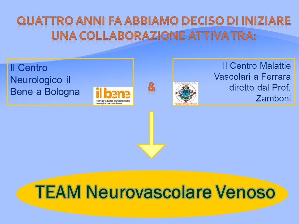 Il Centro Neurologico il Bene a Bologna Il Centro Malattie Vascolari a Ferrara diretto dal Prof.