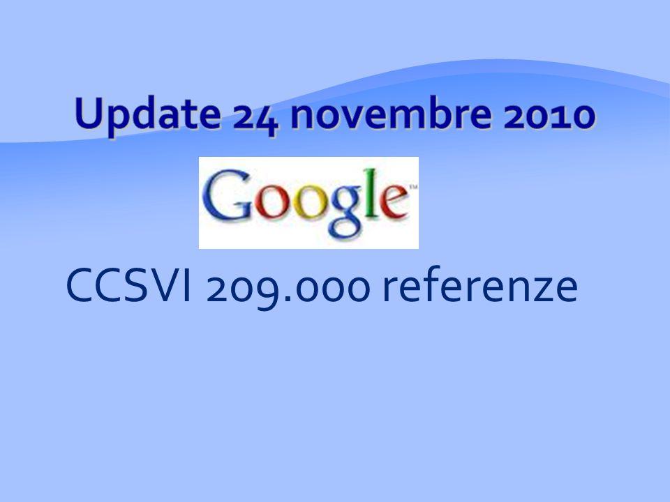 CCSVI 209.000 referenze