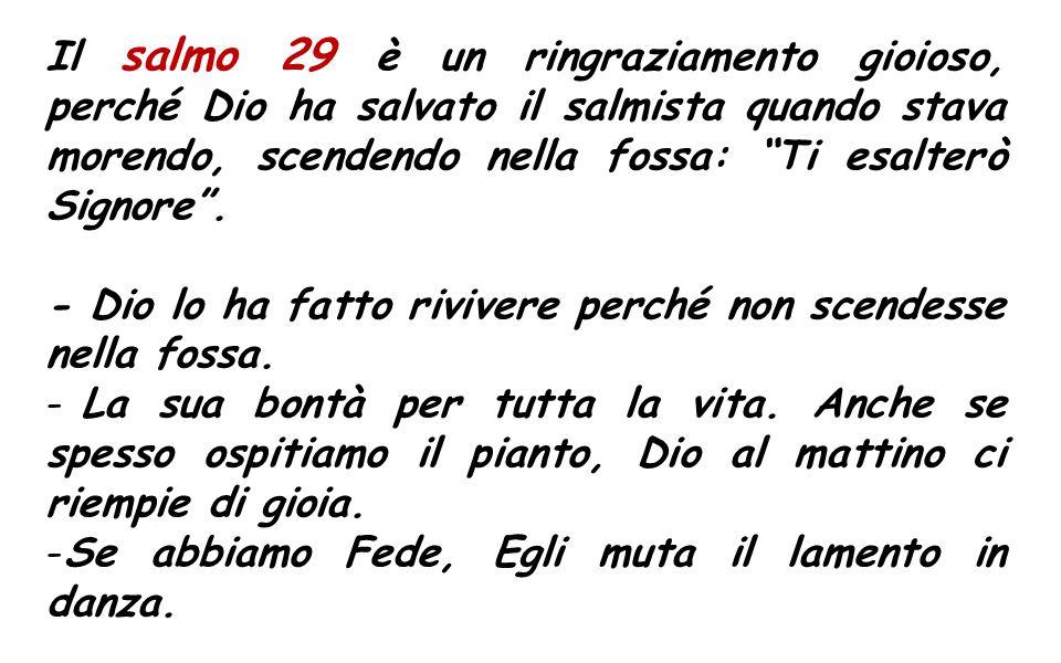 Sa 1,13-15; 2:23-24 Dio non ha creato la morte e non gode per la rovina dei viventi.