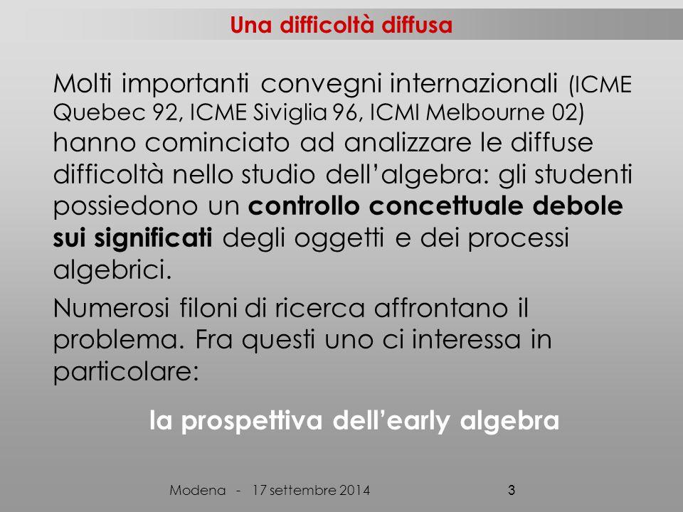 Discussione, riflessione sui processi Negoziazione dei significati Condivisione dei significati Istituzionalizzazione delle conoscenze Costruzione sociale della conoscenza Modena - 17 settembre 2014 34 Devoluzione