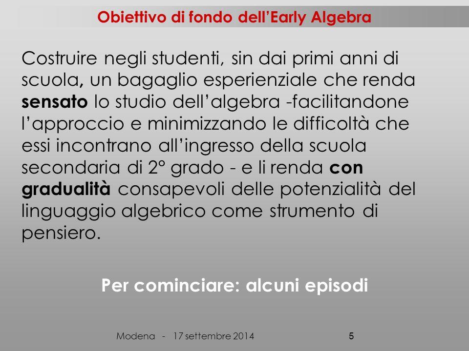 Il sito: www.progettoaral.wordpress.comwww.progettoaral.wordpress.com Modena - 17 settembre 2014 46