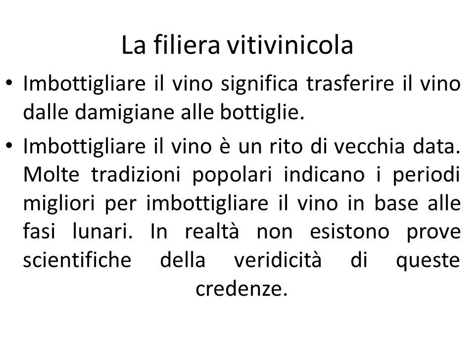 Imbottigliare il vino significa trasferire il vino dalle damigiane alle bottiglie. Imbottigliare il vino è un rito di vecchia data. Molte tradizioni p