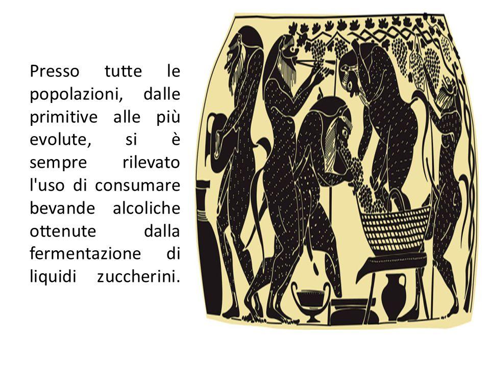 Prodotti e sottoprodotti della filiera vitivinicola Presso tutte le popolazioni, dalle primitive alle più evolute, si è sempre rilevato l'uso di consu